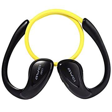 Awei A880BL In-Ear Sports Trådlösa hörlurar – Gul d29c99046908d