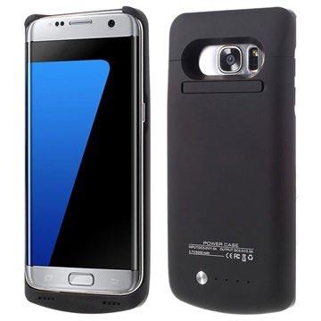 Samsung Galaxy S7 Edge Backup Batterifodral - Svart