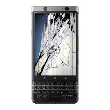 BlackBerry Keyone LCD-display & Pekskärm Reparation - Svart
