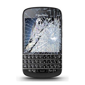 Blackberry Q10 LCD-display & Pekskärm Reparation