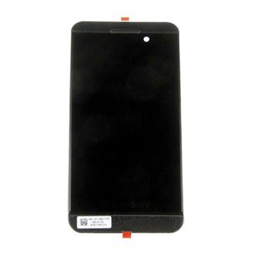 BlackBerry Z10 4G Fram Skal & LCD Display - Svart