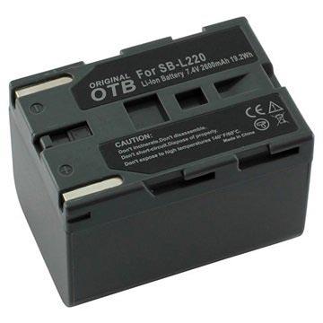OTB Videokamera Batteri - Samsung SB-L70, SB-L110, SB-L220 - 2600mAh