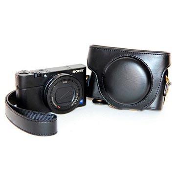 Sony Cyber-shot DSC-RX100 Mark III, Mark IV Kameraväska - Svart