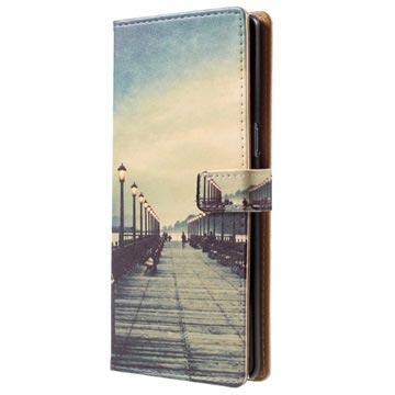 Samsung Galaxy Note8 Glam Plånboksfodral - Pir