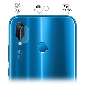 Hat Prince Huawei P20 Lite Kameralins Härdat Glasskydd
