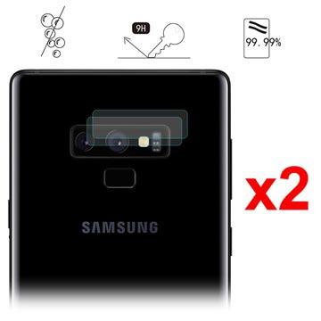 Hat Prince Samsung Galaxy Note9 Kameralins Härdat Glasskydd - 2 St.