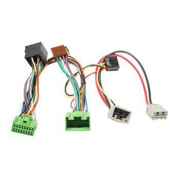 Volvo S40/V50 ISO2CAR mute-adapter med 16 stifts kontakt