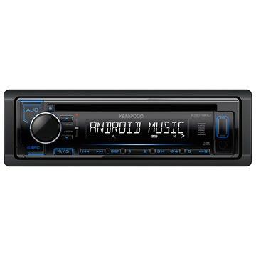 Kenwood KDC-120UB Android Bilstereo - Svart/Blå