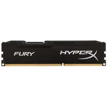 Kingston HX318C10FB/4 HyperX Fury DDR3-1866 RAM-minne - 4GB - Svart
