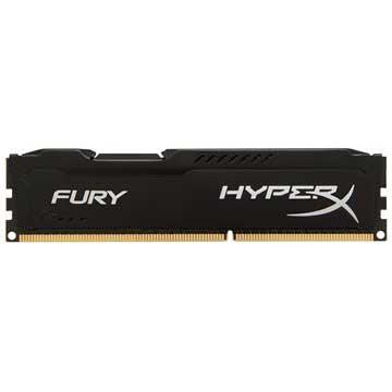 Kingston HX318C10FB/8 HyperX Fury DDR3-1866 RAM-minne - 8GB - Svart