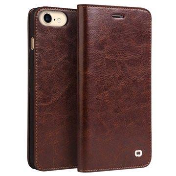 iPhone 7 Qialino Classic Läder Plånboksfodral - Brun – iPhone 7 ... cd0262e3ac00e