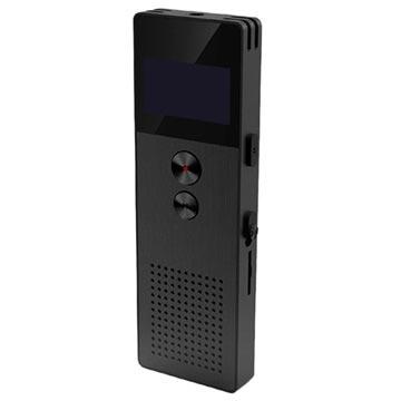 Remax RP1 OLED Diktafon - 8GB - Svart