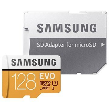 Samsung Evo MicroSDXC Minneskort MB-MP128GA/EU - 128GB