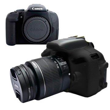 Silikonskal - Canon EOS 600D/650D/700D - Svart