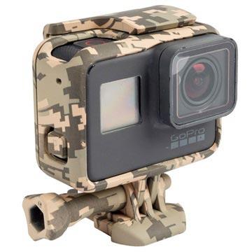 GoPro Hero5 Silikonskal - Grå Kamouflage
