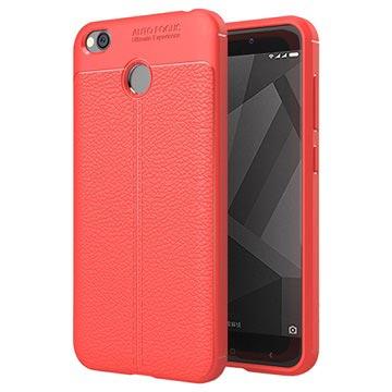 Slim-Fit Premium Xiaomi Redmi 4 TPU-skal - Röd
