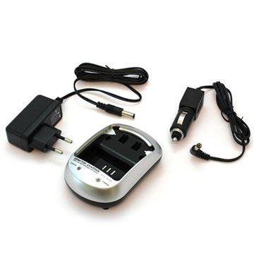 Videokamera Batteri Laddare - Sony NP-FP50, NP-FH50, NP-FV100