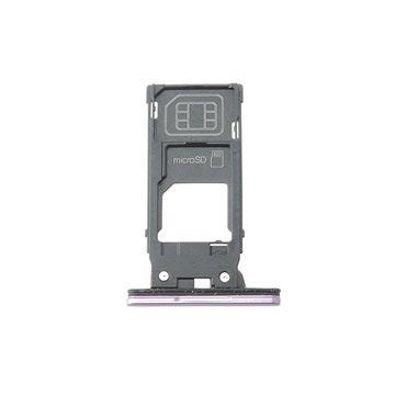 Sony Xperia XZ2 SIM & MicroSD Kort Facket - Rosa