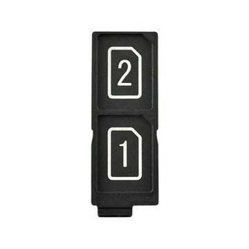 Sony Xperia Z5 Dual, Z5 Premium Dual SIM Kort Facket - Svart