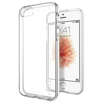 iPhone 5 5S SE Spigen Liquid Crystal TPU Skal - Klar -PresentVaruhus e87f6d83d244b