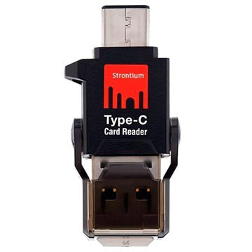 Strontium USB Type-C / microSD OTG Kortläsare