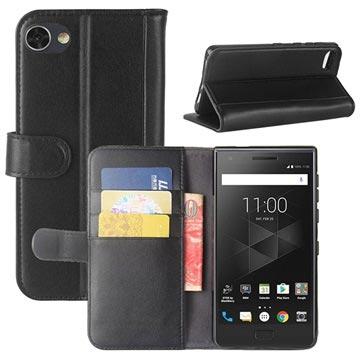 BlackBerry Motion Texturerad Plånboksfodral - Svart