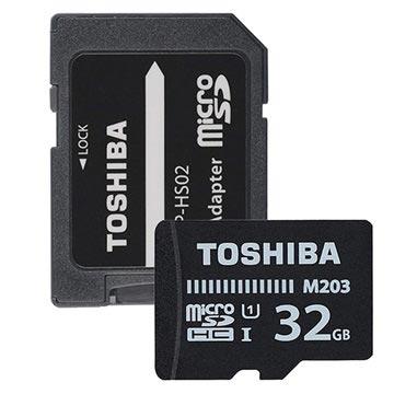 Toshiba M203 MicroSDHC Minneskort THN-M203K0320EA - 32GB