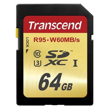 Transcend Ultimate SDXC Minneskort TS64GSDU3 - 64GB