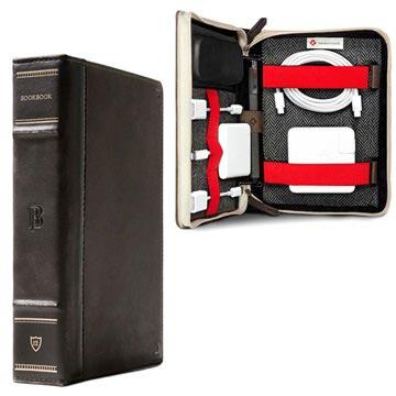 Twelve South BookBook CaddySack Reseväska - Brun