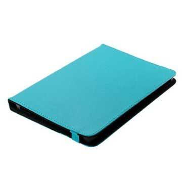 OTB Universal Bookstyle Läderetui till Surfplatta - 10.1 - Ljusblå
