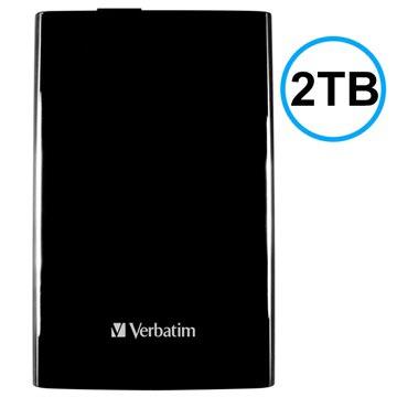 Verbatim Store 'n' Go USB 3.0 Extern Hårddisk - Svart - 2TB