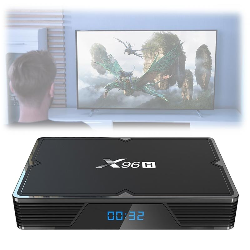 X96H 6K TV Box med Android 9.0