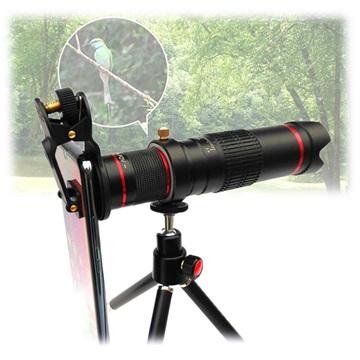 separation shoes cd4f7 d9905 4K Universell 22X Optisk Zoom Teleskop Kameralins med Tripod