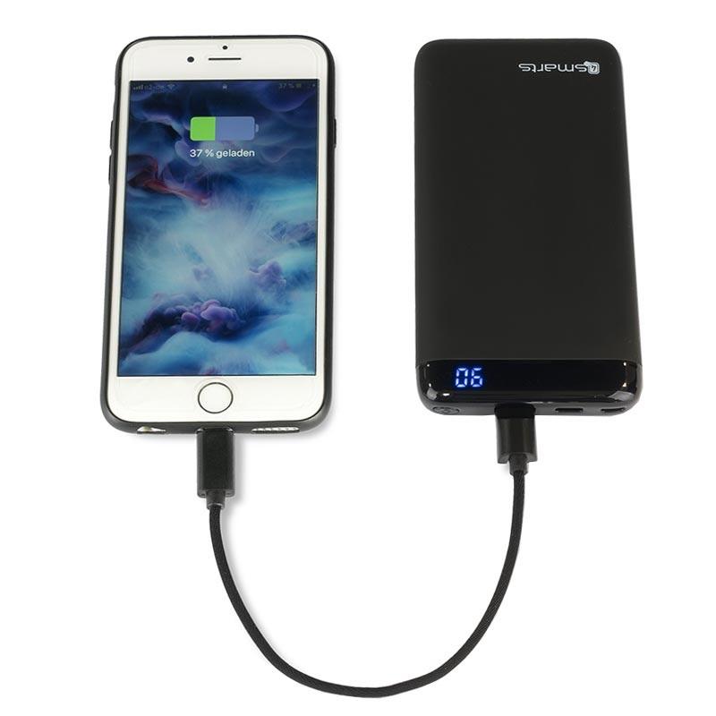 4smarts Snabb Billaddare iPhone XS maxXRX8 Plus Svart