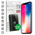 iPhone X / iPhone XS 4smarts Curved Glass Skärmskydd - Svart