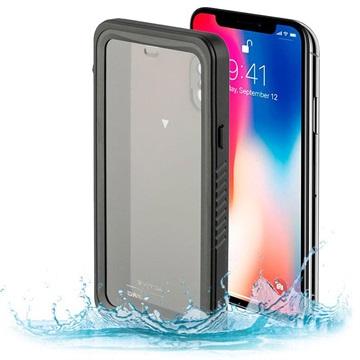 iPhone X   iPhone XS 4smarts Nautilus Vattentätt Skal - Svart d0c619316e1b1
