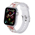 Apple Watch 1/2/3/4/5/6/SE Stylish Silikon Armband - 38mm, 40mm
