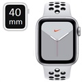 Apple Watch Nike Series 5 LTE MX3C2FD/A - 40mm - Silver