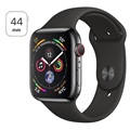 Apple Watch Series 4 LTE MTX22FD/A - Rostfritt Stål, Sportband, 44mm, 16GB