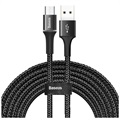 Goobay Retractable MicroUSB Data & Laddningskabel - 1m - Svart