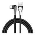 Baseus MVP Mobile Game USB 3.1 Typ-C Kabel - 2m - Svart