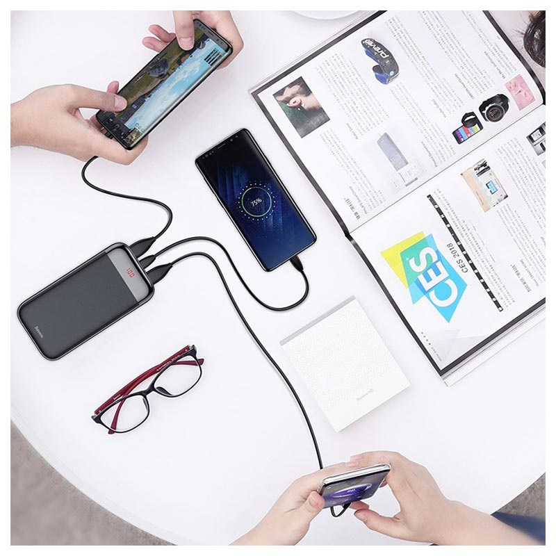Baseus Mini Cu USB-C Powerbank - 20000mAh
