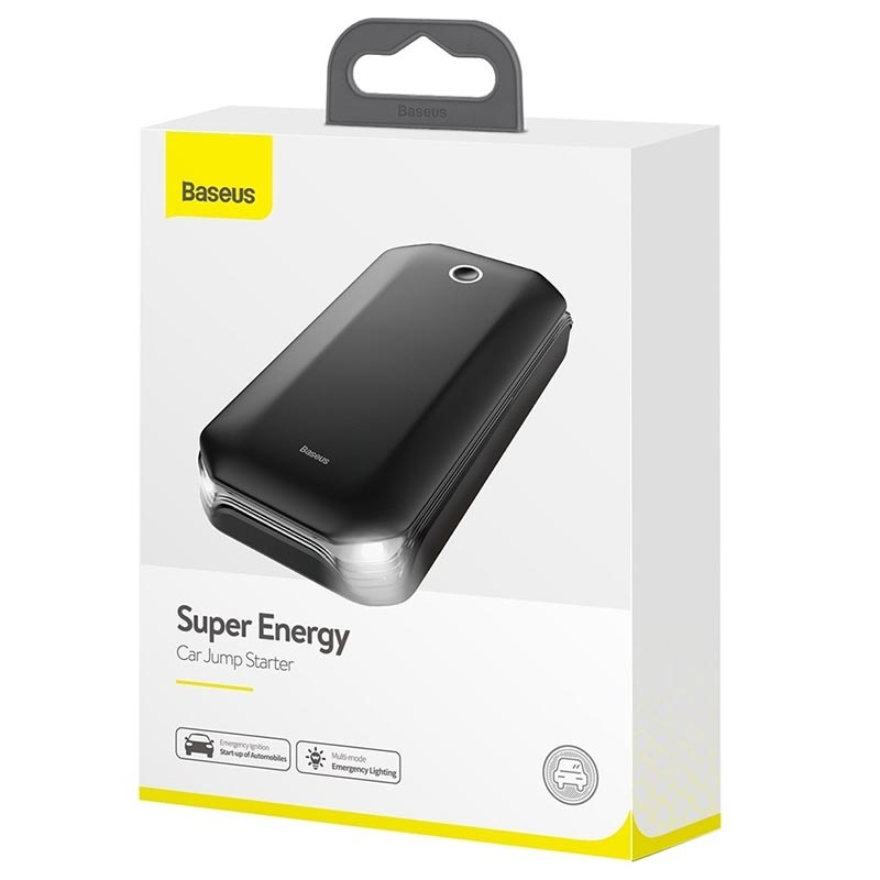 Baseus Super Energy Jump Starter & Power Bank - 800A, 8000mAh