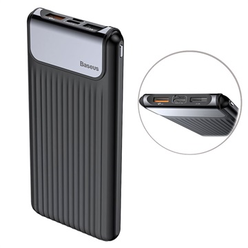 Baseus Thin Digital 10000mAh QC 3.0 Dubbel USB Powerbank