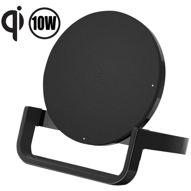 Qi Laddningsstativ för trådlösa laddare för iPhone 8 X Plus Samsung Note 8