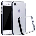 iPhone 7 / iPhone 8 Clear Series Hybrid Skal - Svart