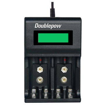 Doublepow DP-UK95 Multifunktionell Snabb USB Batteriladdare - AA/AAA/9V