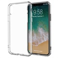iPhone X Drop Resistant Crystal TPU-skal - Genomskinlig