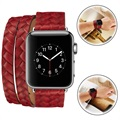 Apple Watch Series 1/2/3 Elegant Vävt Armband - 42mm
