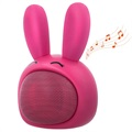 Forever Sweet Animal ABS-100 Högtalare med Bluetooth - Pinky
